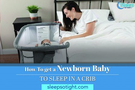 How To get a Newborn Baby to Sleep in a Crib