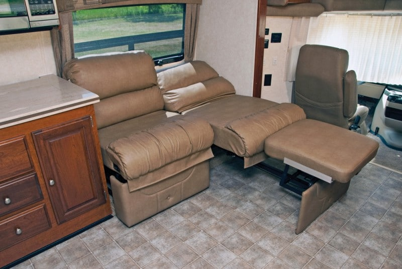 recliner in an rv